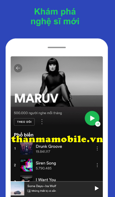 tài khoản Spotify Premium vĩnh viễn