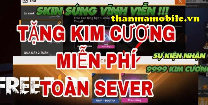 Kim Cương Free Fire miễn Phí 2021