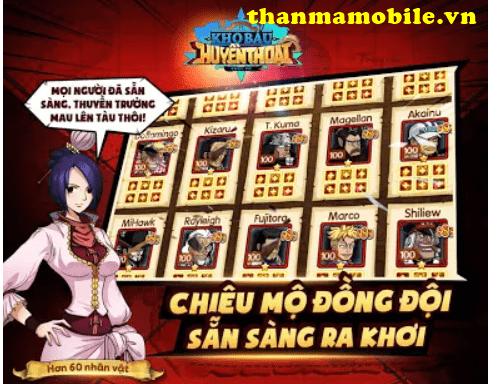 Cho acc Kho Báu Huyền Thoại vip 2021 free