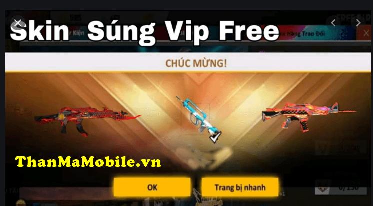 Nhận skin Free Fire miễn phí