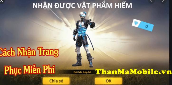 nhan vat pham free fire mien phi 1 min