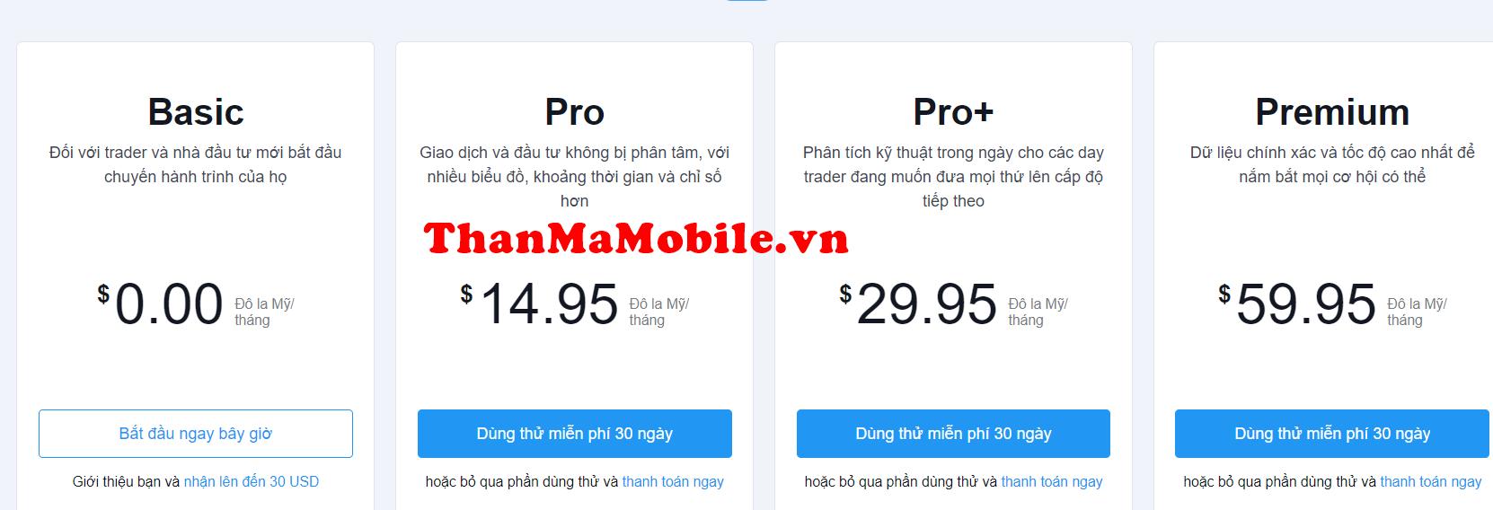 tradingview pro