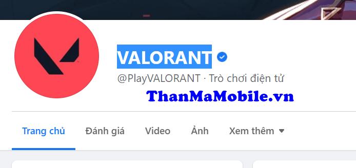 Cho acc  VALORANT