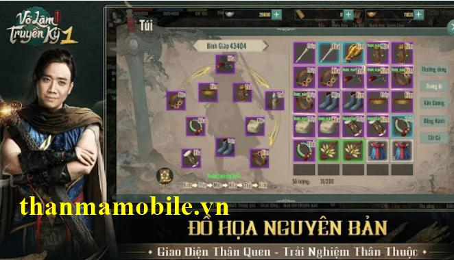 Cho nick võ lâm truyền kỳ 1 mobile VNG